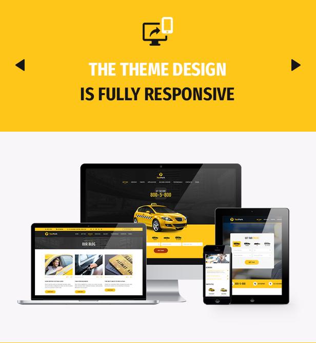 TaxiPark - Taxi Cab Service Company WordPress Theme - 4